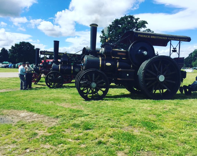 Today's the day it's the tractor and small holding show! #show #Kent #family #fun #summer #steamtrain #history https://t.co/QLhVTMHh1K