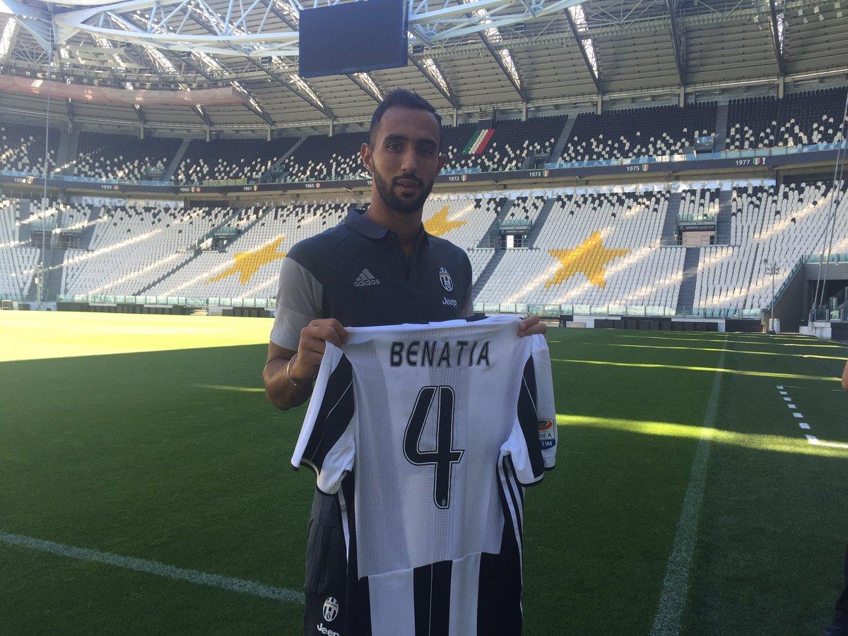 Mehdi Benatia oo shaaciyay lambarka uu u xiran doono Juventus iyo