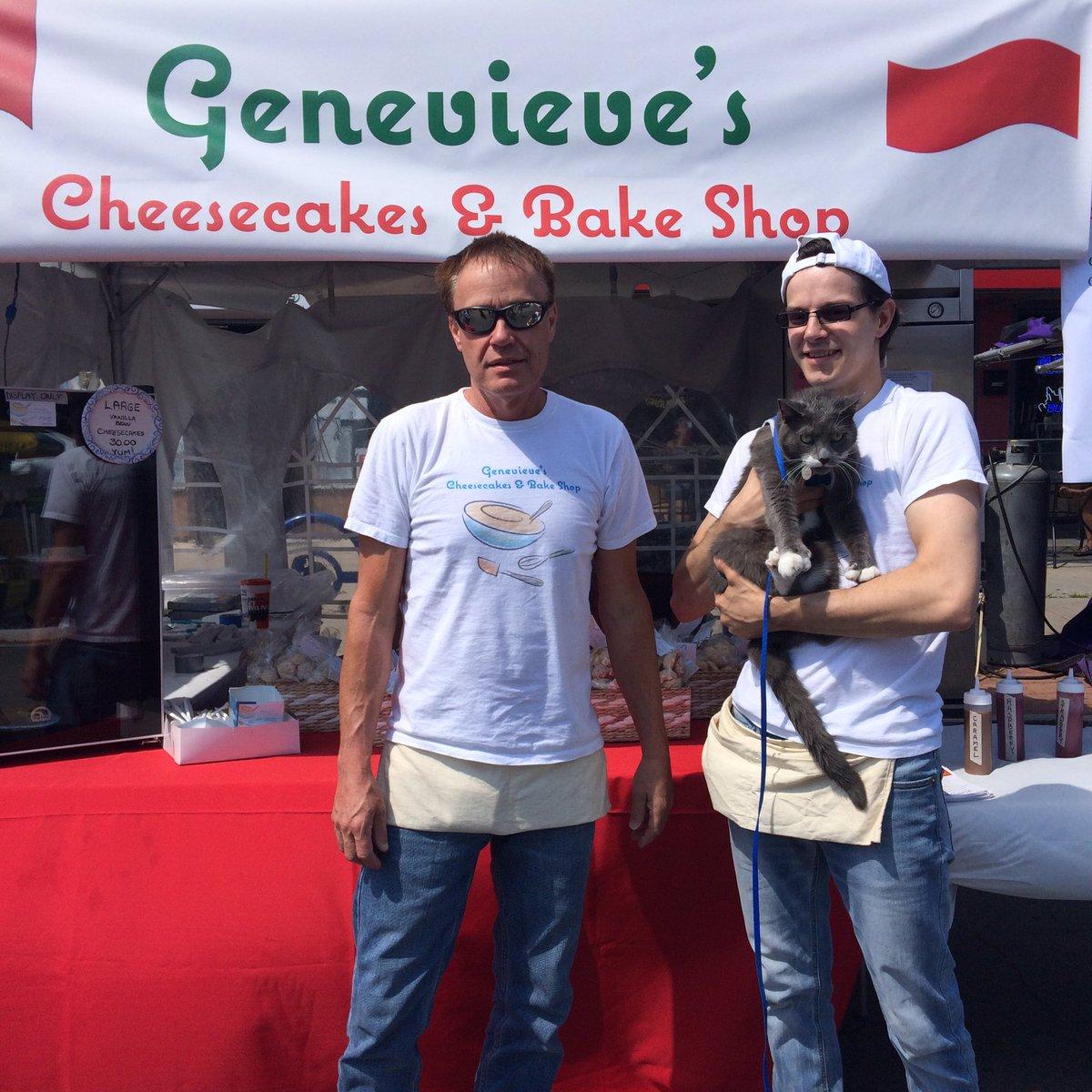 These guys are the best! #deliciouscookies #cannolicheesecake #italianfest #buffalocat #buffalolove #bfloskyecatpic.twitter.com/u4Ty9tBOvf – at Galbani Buffalo Italian Heritage Festival
