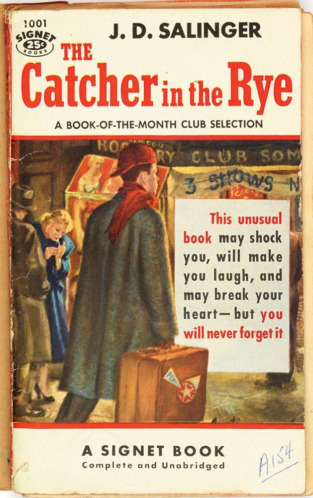 """""""I like it when somebody gets excited about something. It's nice.""""   — The Catcher in the Rye  (via @DVNJr)"""