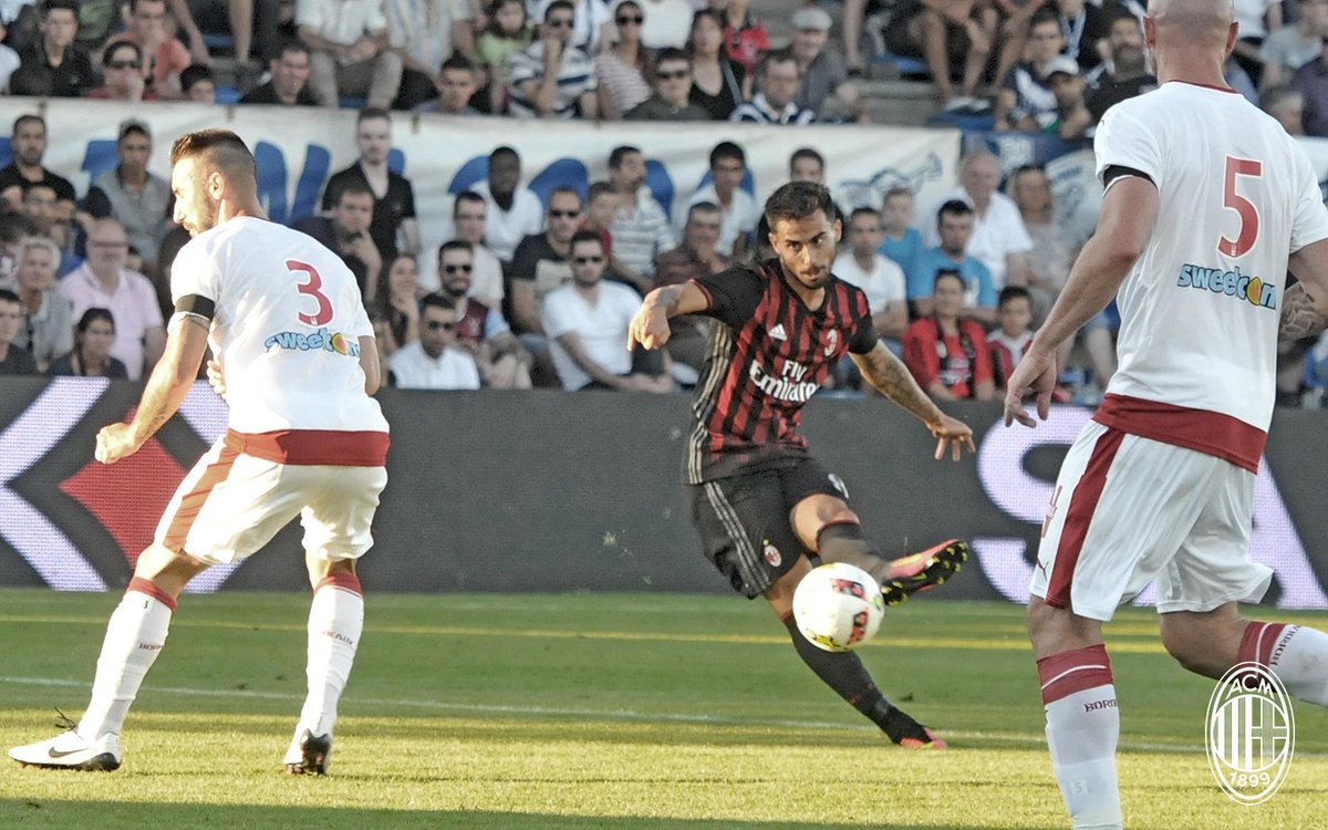 Video: Bordeaux vs AC Milan