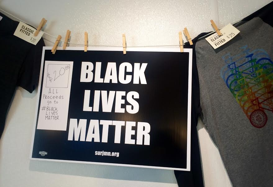 #BlackLivesMatter lawn signs are here! $20, proceeds to @blacklivesmpls