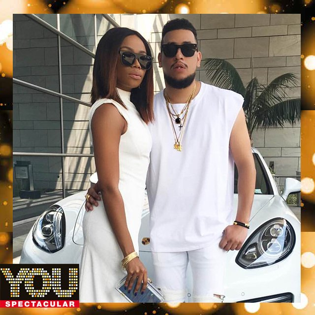 BONANG MATHEBA & AKA take home Favourite Couple at #YOUSpec2016 @bonang_m @akaworldwide https://t.co/MLp4WyFwMZ