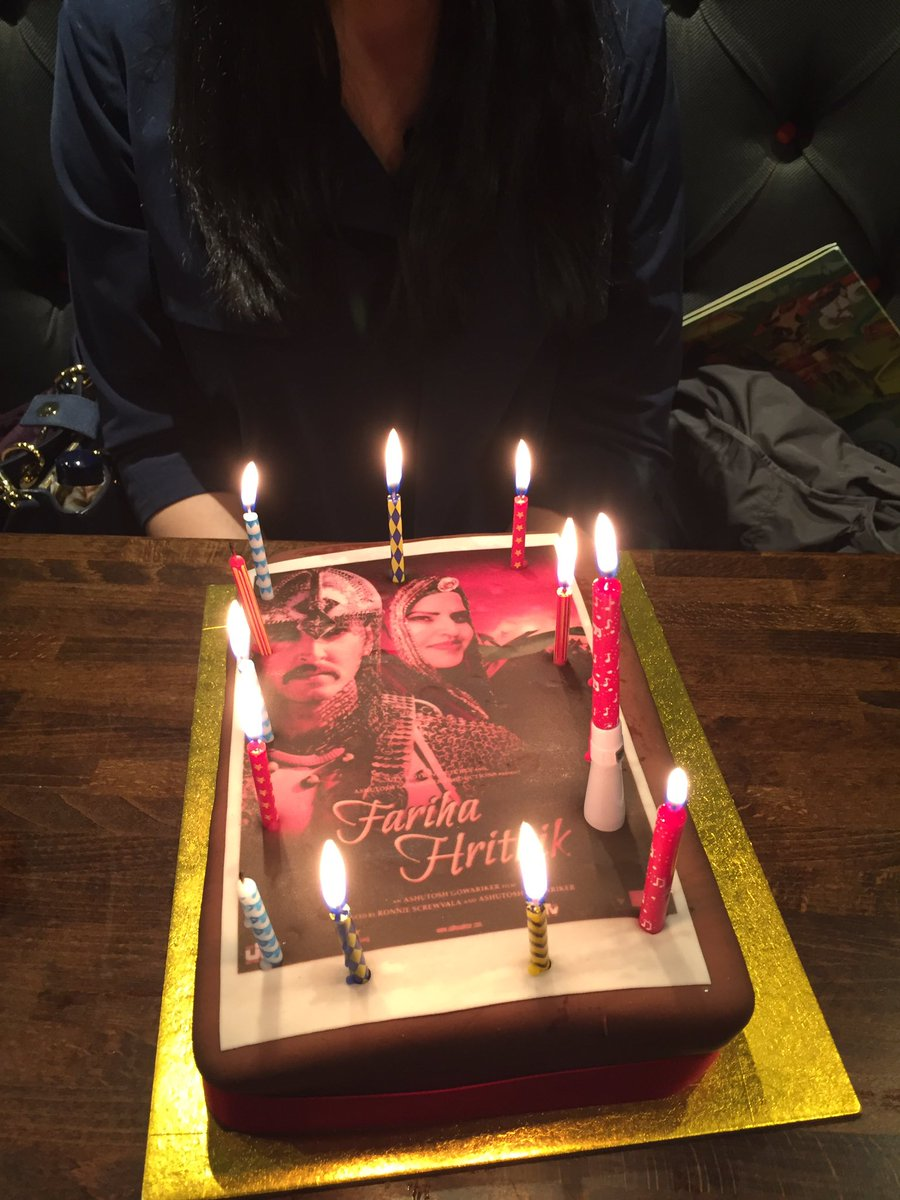 Fariha Sabir Bajwa On Twitter Thank You AsianaTV For My Epic Birthday Cake And Spoiling Me IHrithik Wishing A Happy Bday Is All Thats Left