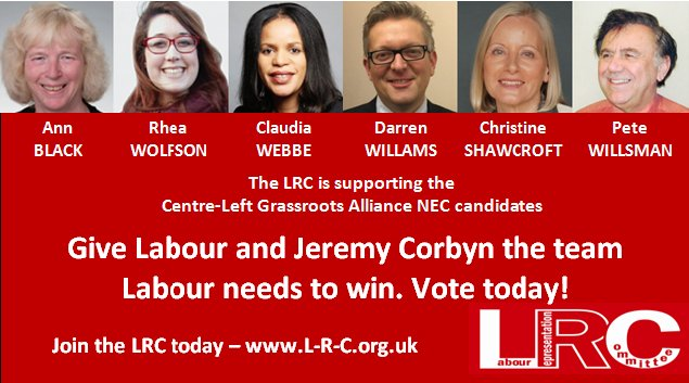Let new left members in your CLP know who the #LeftSlate candidates in the NEC are. Share/Retweet. https://t.co/EMxwxhSsq0