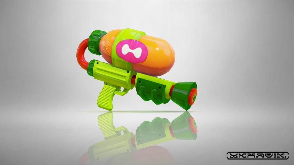 スプラトゥーンの武器