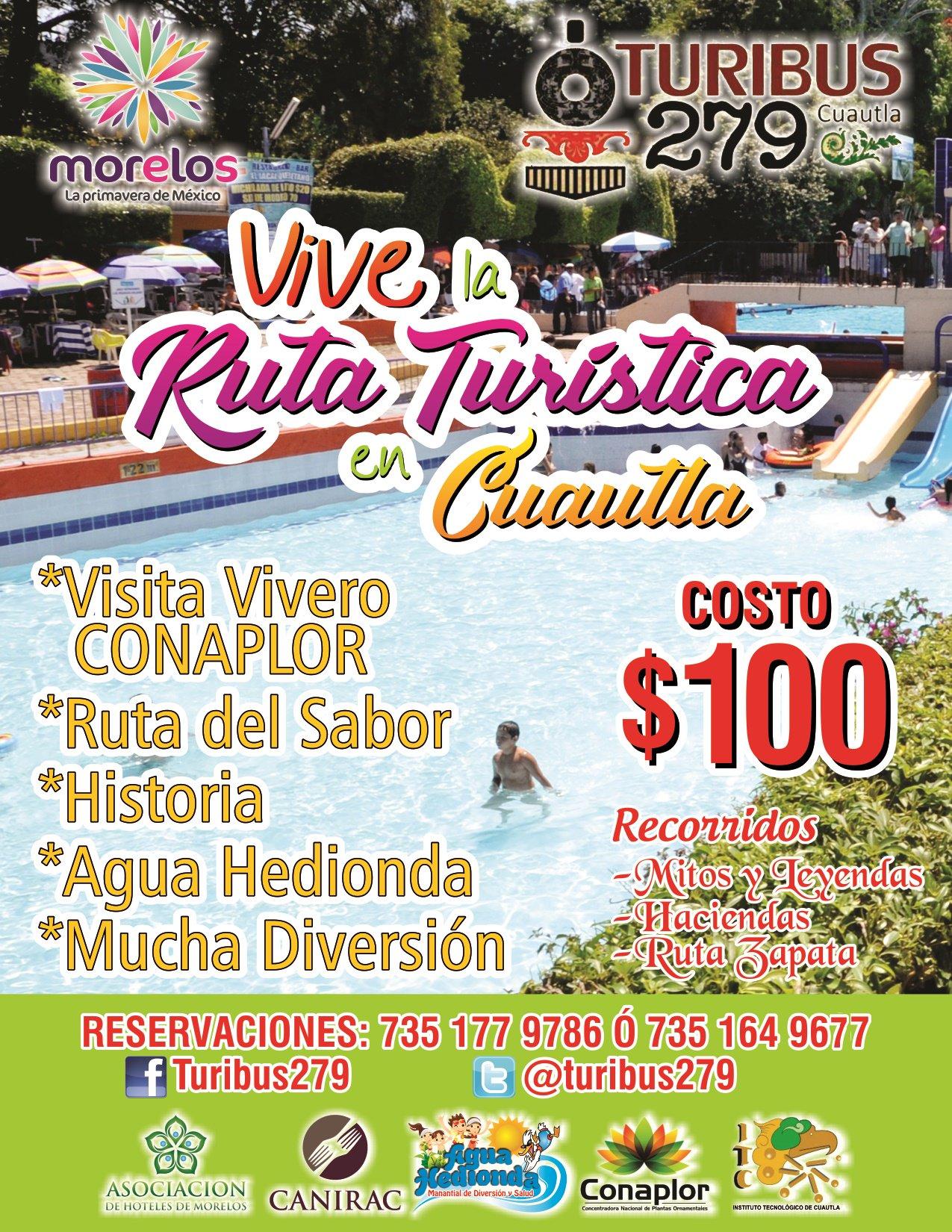 Vive la Ruta Turistica este Verano en #Cuautla #Morelos @turibus279. https://t.co/fmN0pWq8a0