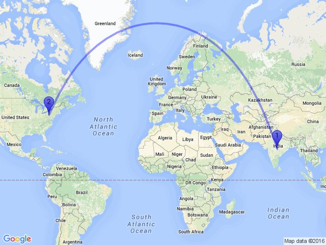 Random Distance On Twitter The Distance Between Nagpur - Argentina map from india