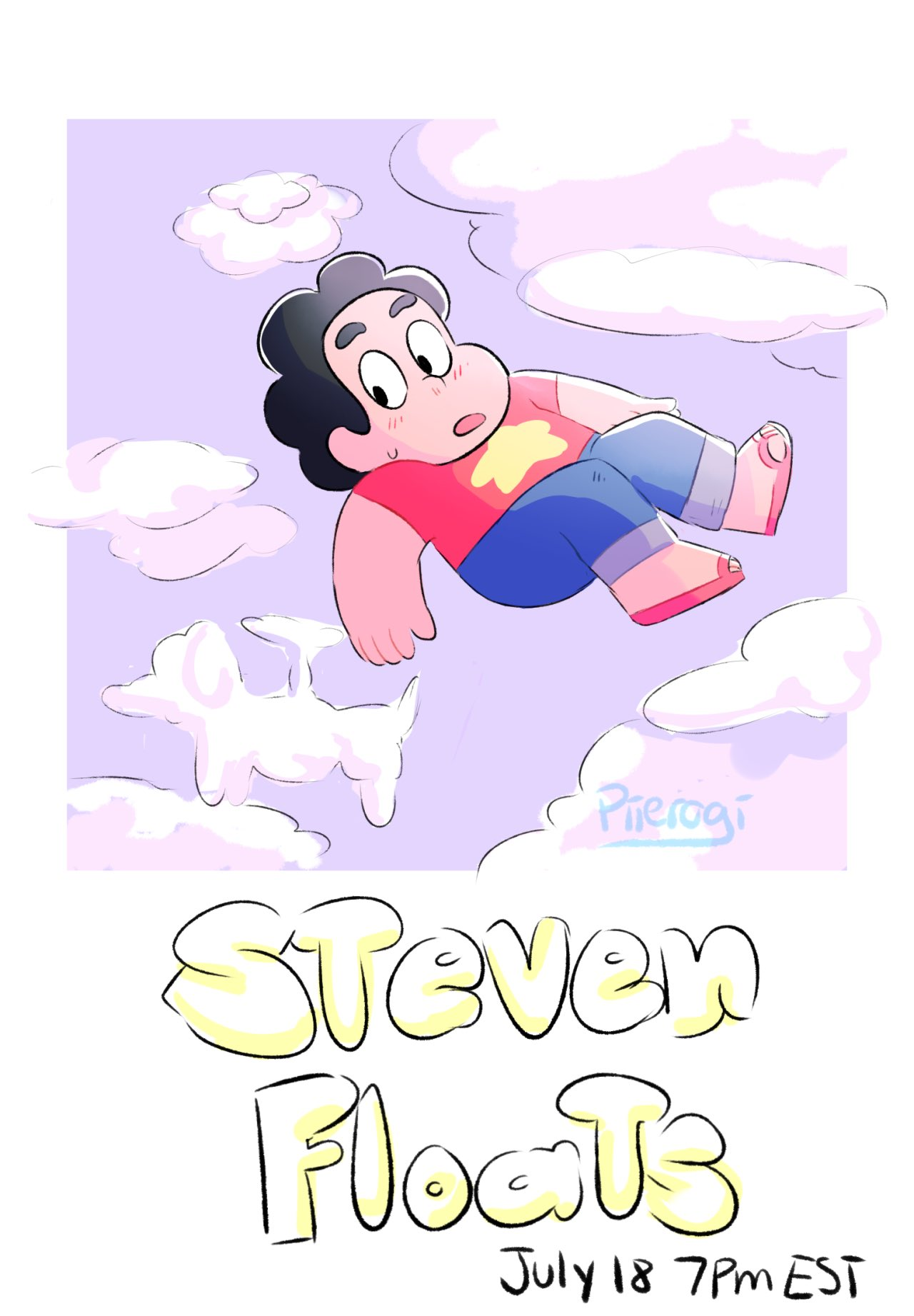 """Wanted to do a promo #StevenUniverse"""