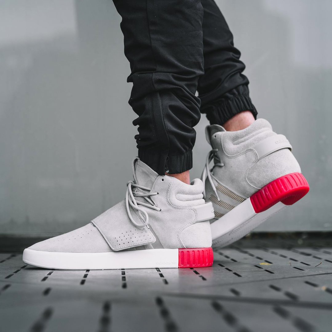 New adidas women 's originals tubular invader strap shoes