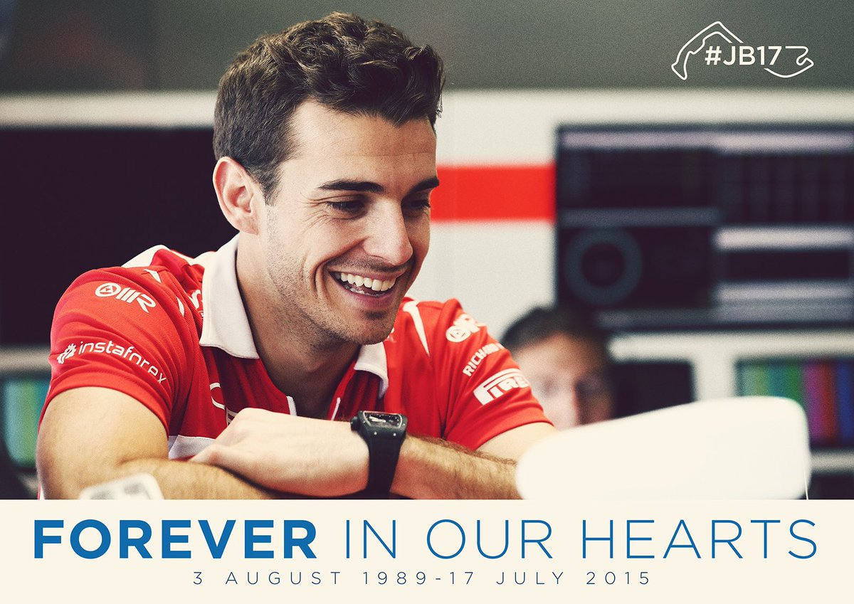 One year on. Always with us. #JB17 https://t.co/zxB2WCv8pz