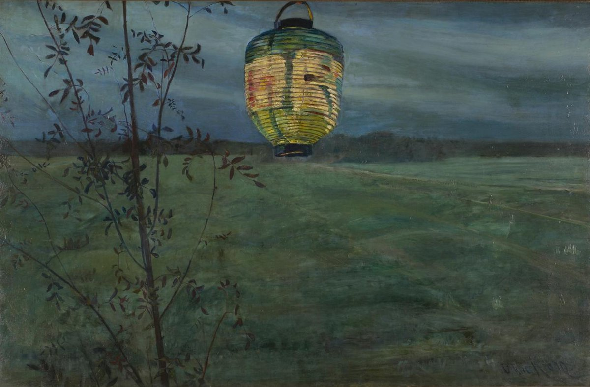 Womensart On Twitter Norwegian Painter Oda Krohg Japanese Lantern 1889 Womensart