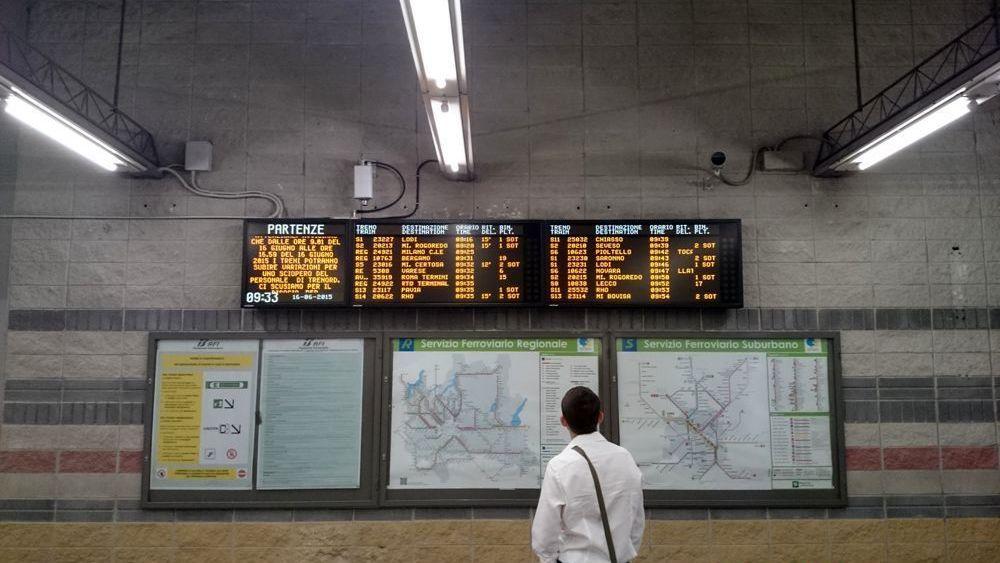 Sciopero Treni, stop personale ferroviario nel week-end