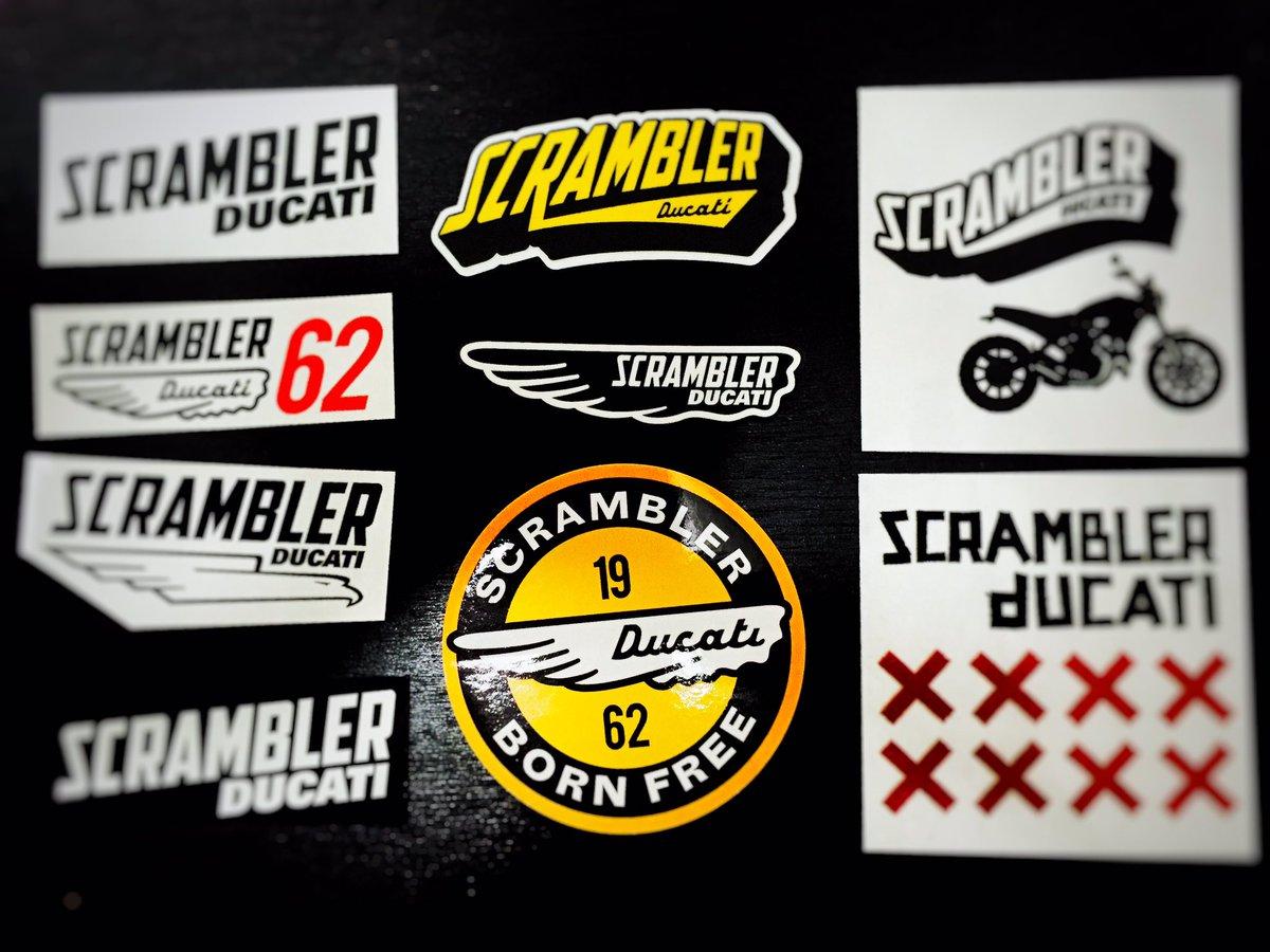 Saito T On Twitter Ducati Scrambler Sticker Ducati