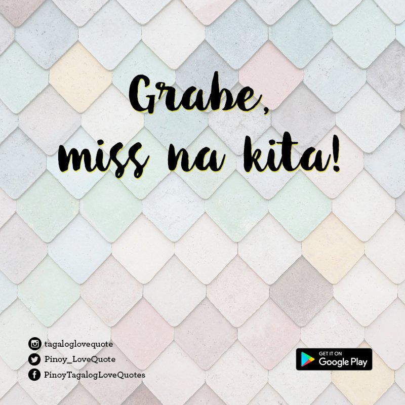 Pinoy Tagalog Love Quotes on Twitter: