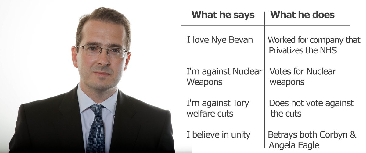 British Blairite Labour leader candidate Owen Smith in theory and practice