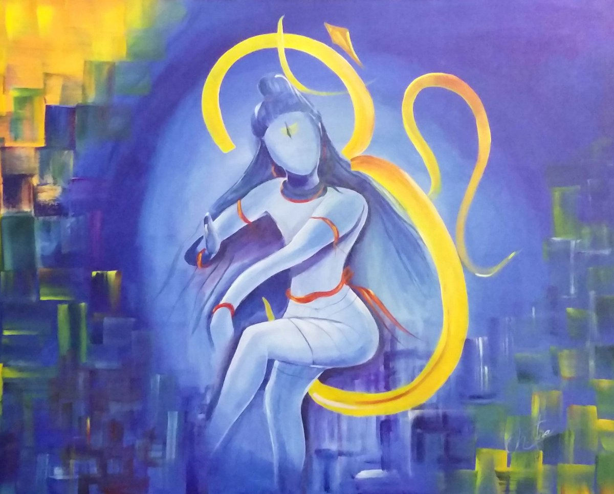 Paintings of Lord Shiva  IMAGES, GIF, ANIMATED GIF, WALLPAPER, STICKER FOR WHATSAPP & FACEBOOK