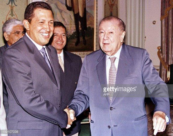 Resultado de imagen para Indulto de Caldera a Chávez