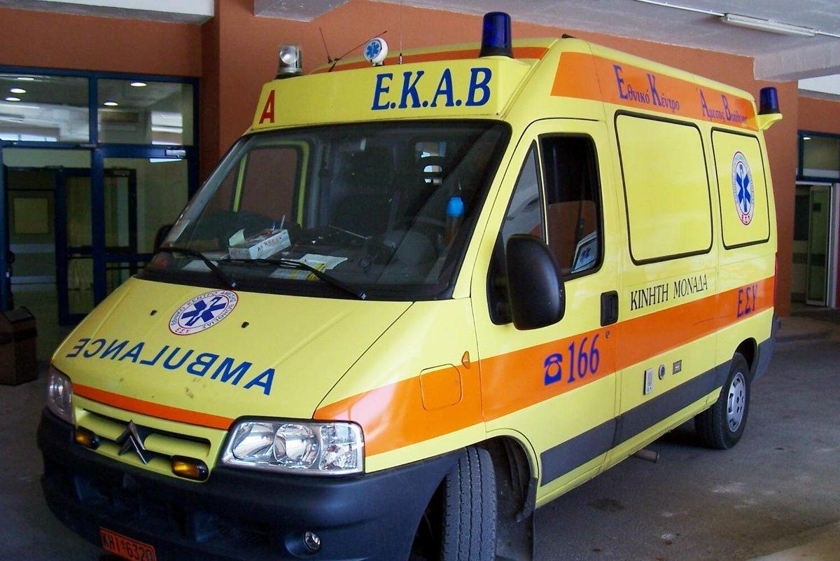 Πρέβεζα: Εκτροπή μοτοσικλέτας με δύο τραυματίες
