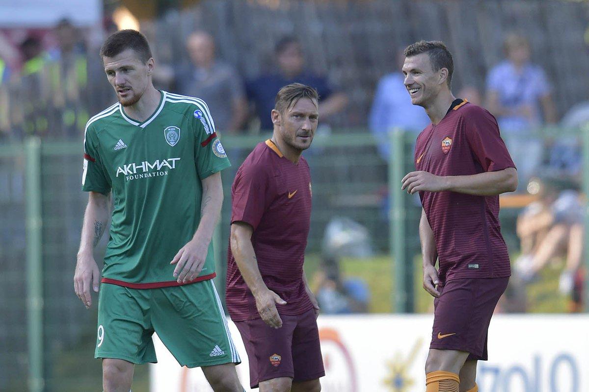 ROMA Terek Grozny Risultato 3-2: in gol Perotti, Dzeko e Marchizza