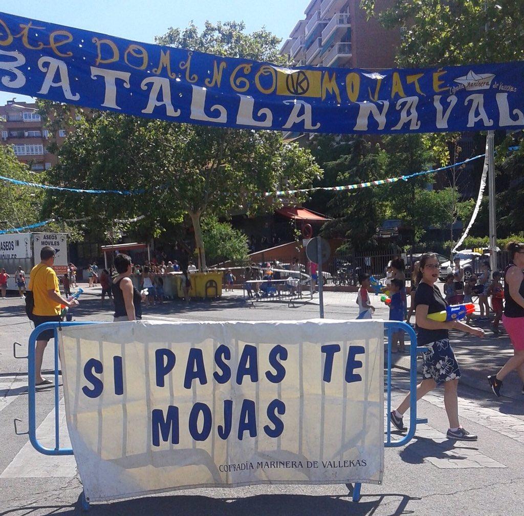 Un año más la #BatallaNavalVK fiel a su cita. Vallecanos y vallecanas, por un mundo sin machismo !!#NosQueremosVivas https://t.co/aVOonDNWCu