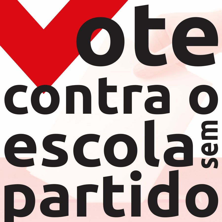 """Site do Senado Federal lança enquete sobre o """"Escola Sem Partido"""". Vamos votar contra: https://t.co/VZZ4kwhZfj https://t.co/0JKd0KVoYJ"""