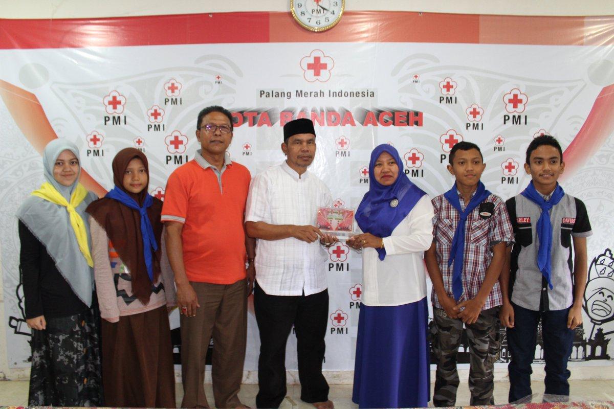 Pmi Kota Banda Aceh On Twitter Peserta Jumnas Dr Pmi Banda Aceh 3 Madya 1 Peninjau Forpis 1 Pendamping Pembina Smp N 6 Palangmerah