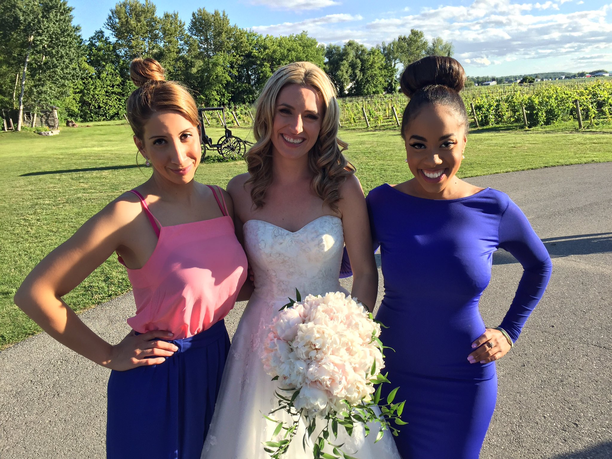 Patricia Jaggernauth On Twitter Quot She S Married 👰🏼💍 Our Beautiful Courtney Tied The Knot This