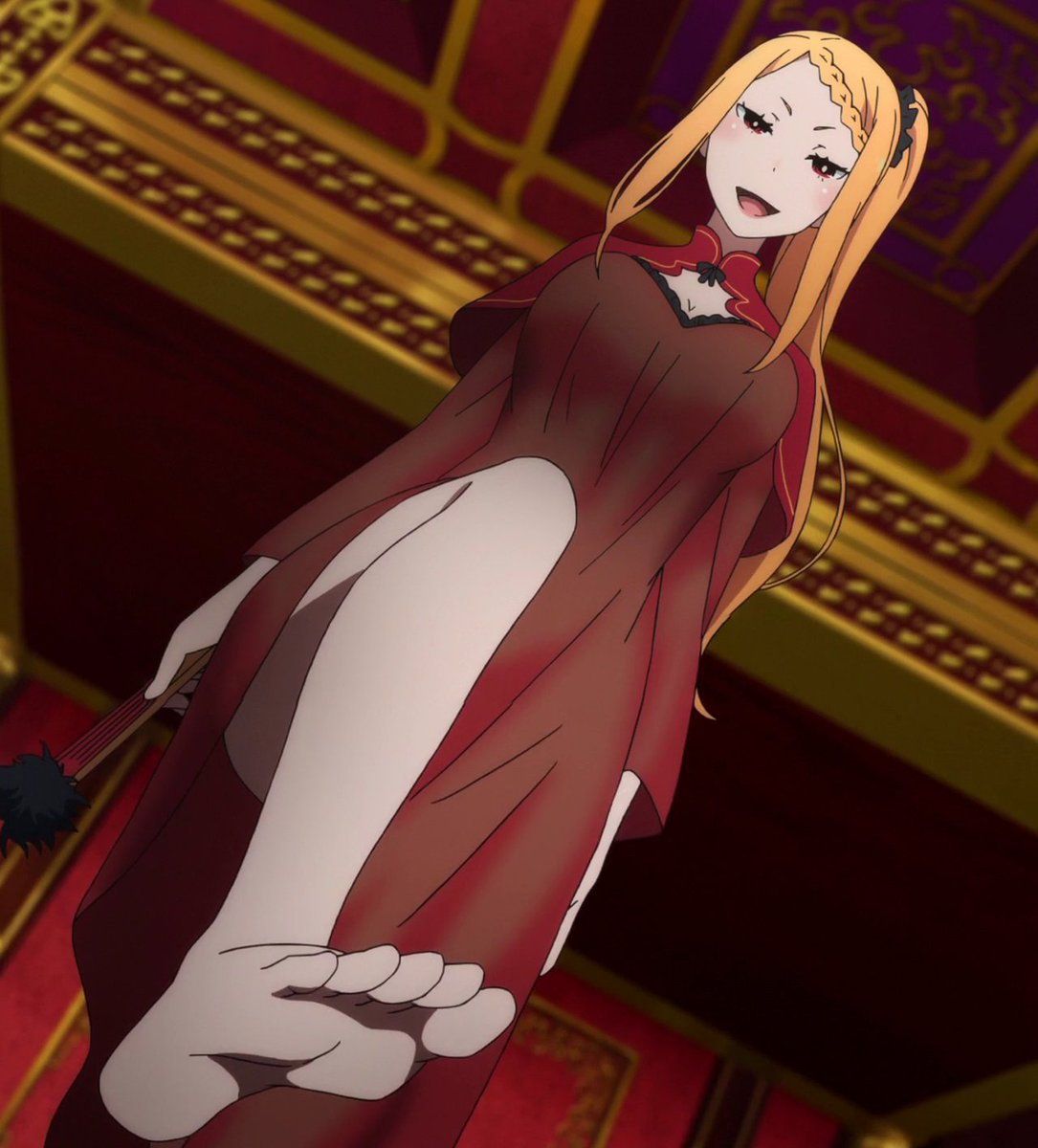 Does anyone else especially like girls feet in anime? : anime