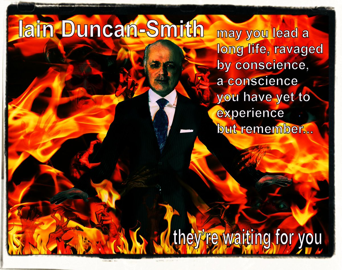 IDS Don't let him off the hook. #workfare #esa #disability #pips #wca #disabilityhate #dwp   2