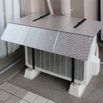 季節の節電グッズ、室外機カバーで安く涼しく!