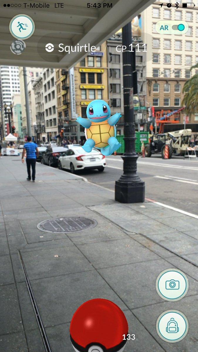 ゼニガメ、かわいいよー!#PokemonGO https://t.co/MRsrkZuiSX