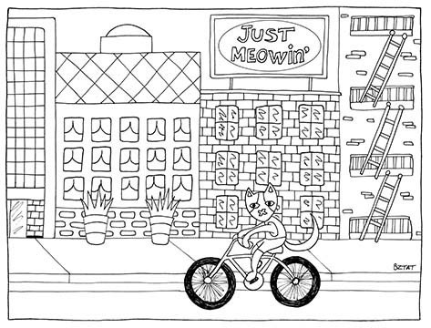 @RustytheKitty @Slinky_The_Cat I gotta bike. The wheels are a bit more manageable on mine. Just Meowin'. https://t.co/Utn0d2bdiJ