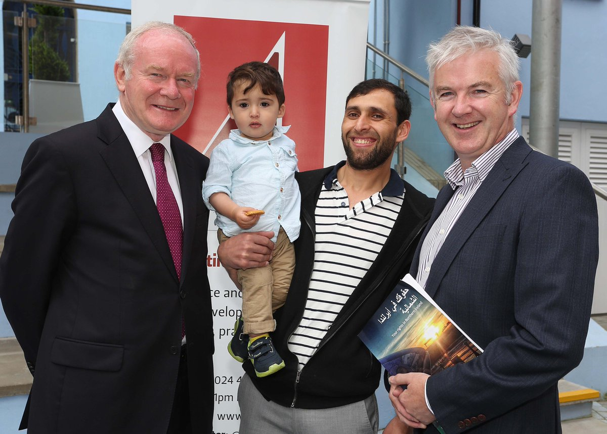 McGuinness launches rights and responsibilities guide to help Syrian refugees @HolywellT - https://t.co/czHxlq8O2C https://t.co/woAzleWKRA
