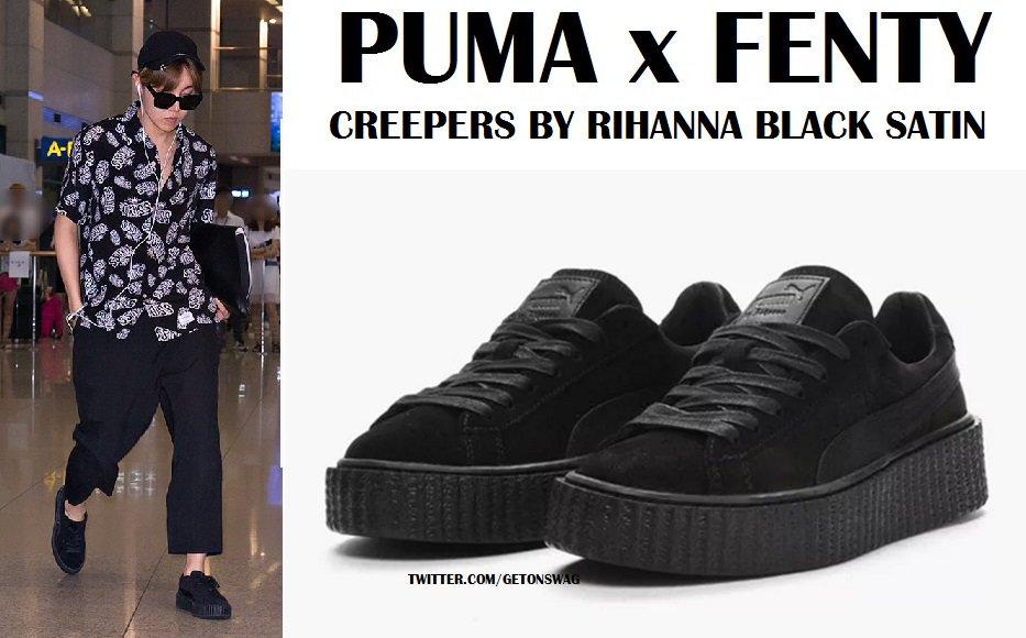 puma creepers bts