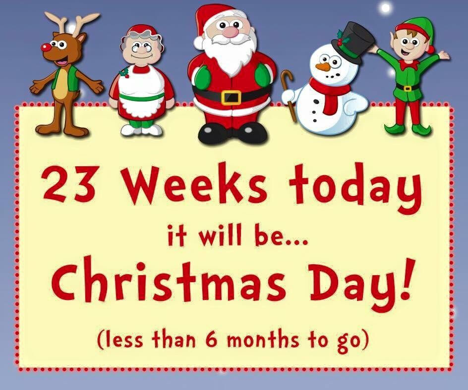 its only 23 weeks until christmas book your christmas celebrations hallmarkbou today call the team on 01202 544114pictwittercomiudnrchr1b - Weeks Until Christmas