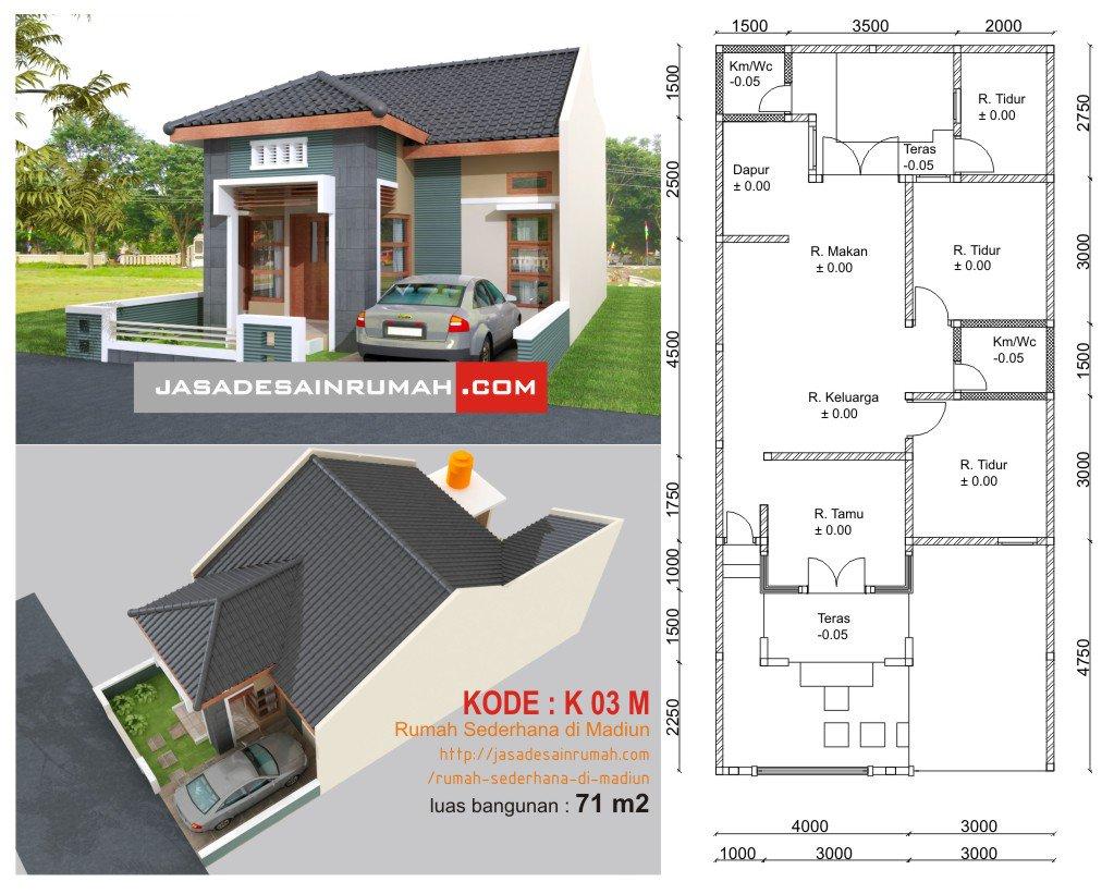 55+ Gambar Contoh Desain Rumah Modern Minimalis Paling Keren Yang Bisa Anda Tiru