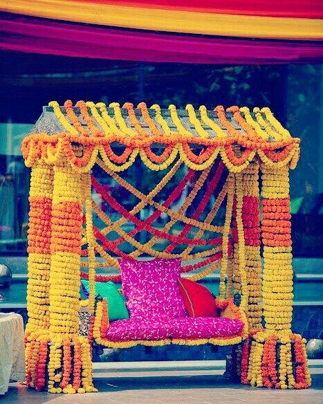 Pankhuri Florist On Twitter Mehndi Function Decoration With