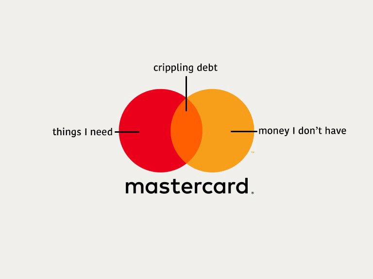 Mastercard's new logo. Makes a lot of sense. https://t.co/rJoLyRkR9G