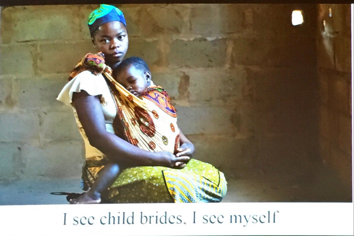 'We must work together to end #childmarriage and enable girls to fulfil their potential' #AIDS2016 @GirlsNotBrides https://t.co/0MXbLSxuKY
