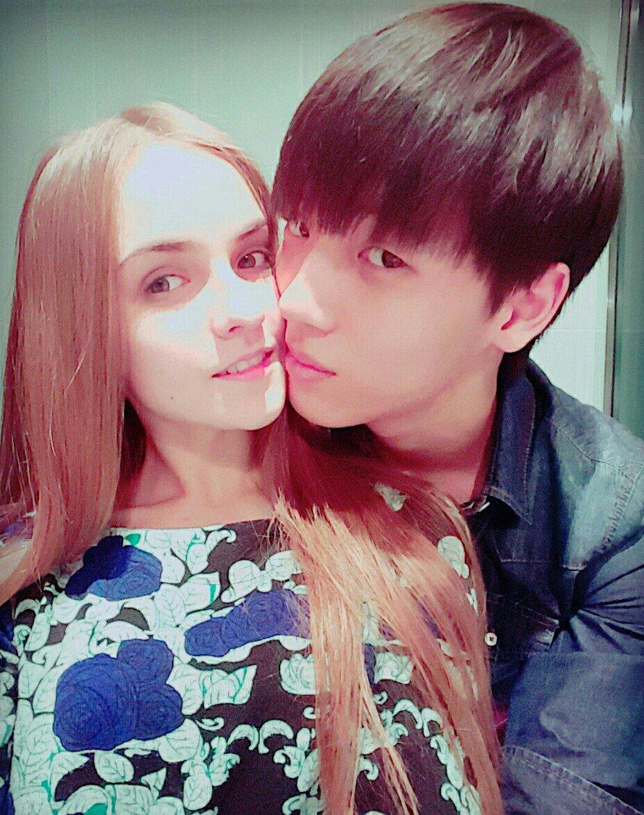 Кореец и русская девушка картинки