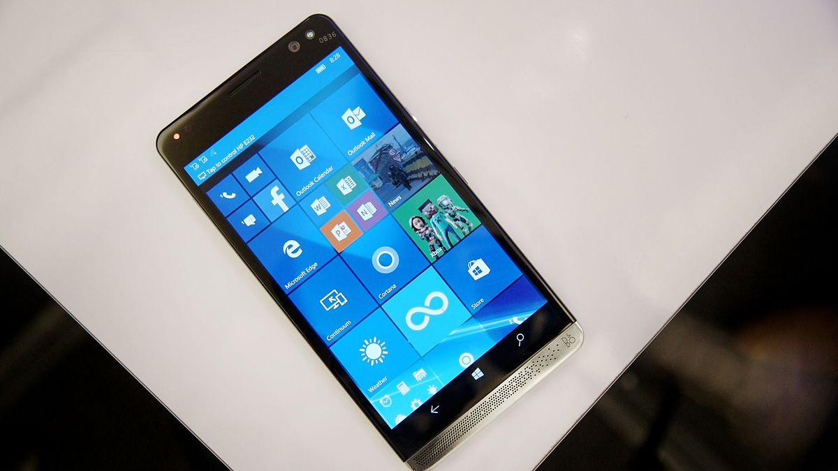 HP's Elite x3 Windows phone will be available next month for $699