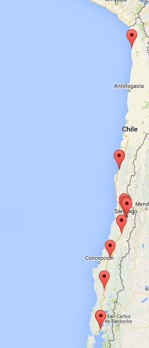 Por medio de la APP de ONG @reddeemergencia puedes enviar tus reportes y estos se georeferencian automáticamente