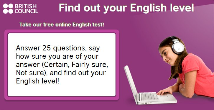 british council level test online free
