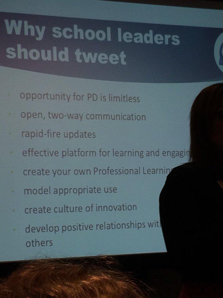 Why school leaders should tweet. Let's change the conversation! @Carla_Pereira2 #NSPRA2016 https://t.co/L76ubWZEIk