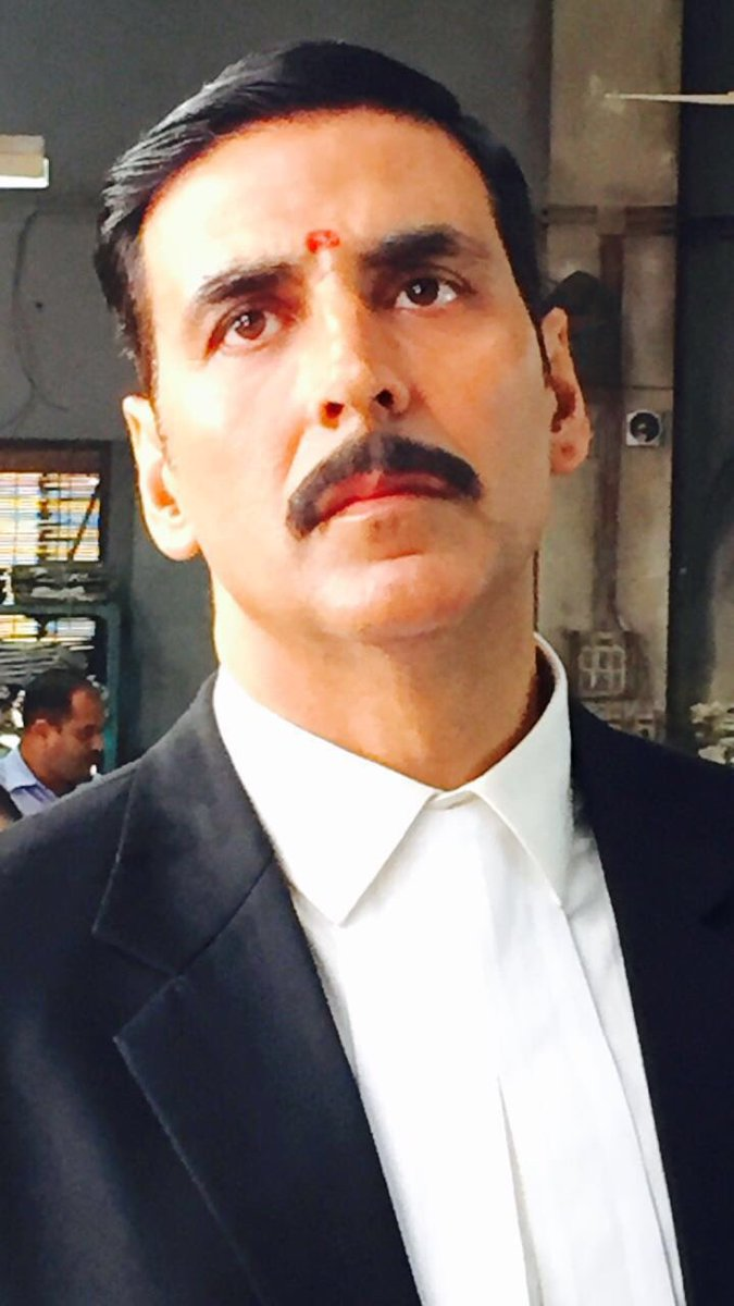 akshay kumar on twitter new day with a new look for a new film