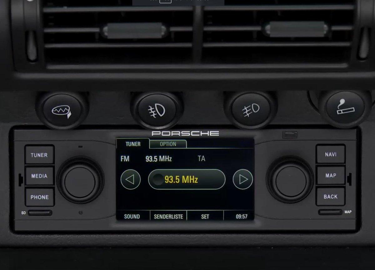 Autobahn porsche on twitter porsche classic radio navigation system now available for vintage porsche sports cars video https t co djo3vdmfaz