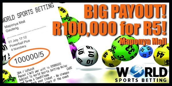 World sport betting maponya mall logo betting the point spread explained in detail