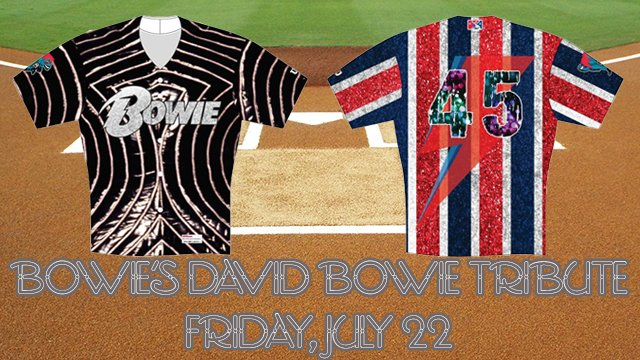 JUST ANNOUNCED: Bowie Baysox to become Bowie Baysox to honor rock-star David Bowie Fri. 7/22 https://t.co/UWF0Mf4dmN https://t.co/qiZ5ZnDAWf