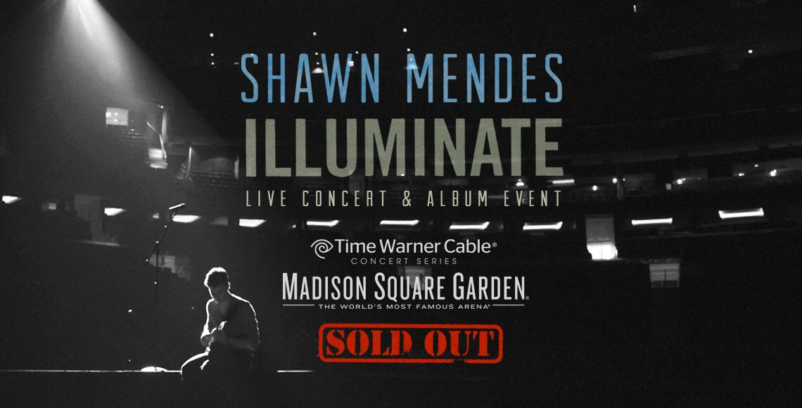 shawn mendes on twitter we sold out madison square garden so fast over the weekend guys